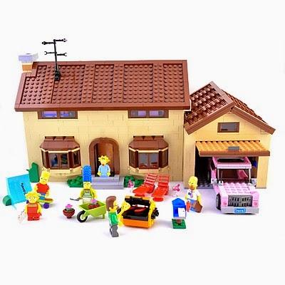 La Casa de los Simpsons Lego