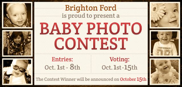 Brighton Ford Baby Photo Contest