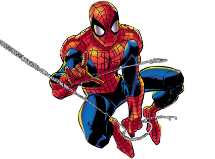 Dibujo de Spiderman por John Romita Jr.