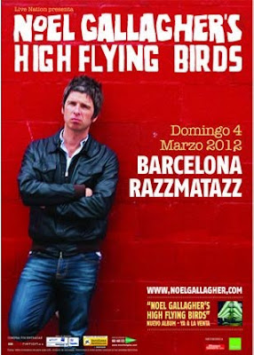 Noel Gallagher´s en Barcelona