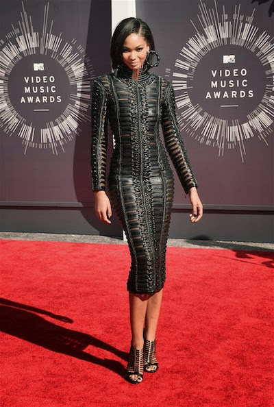 2014 mtv music awards chanel iman