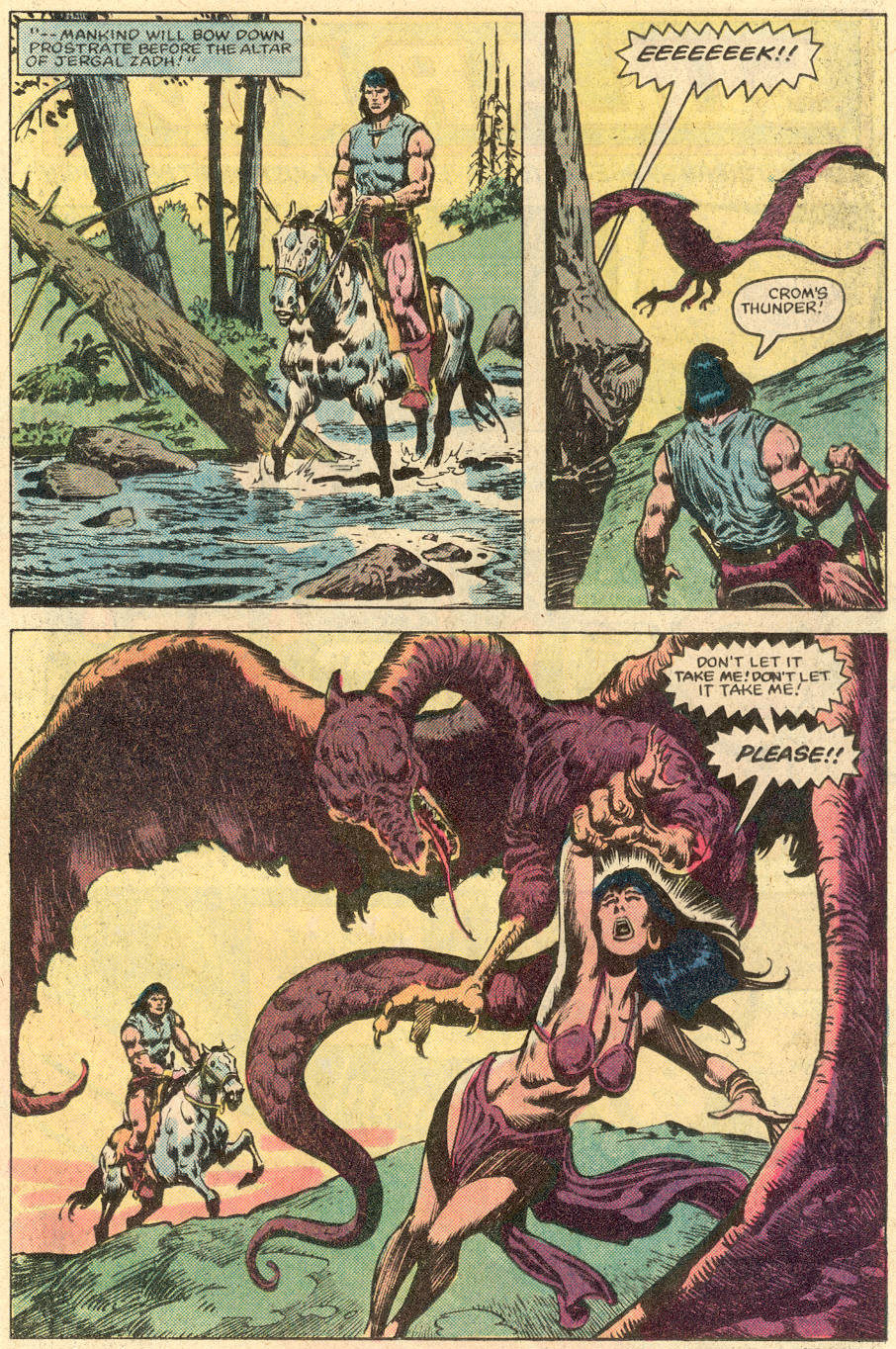 Conan the Barbarian (1970) Issue #152 #164 - English 4