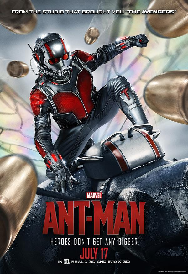 ANT-MAN Gets a LEGO Movie Poster