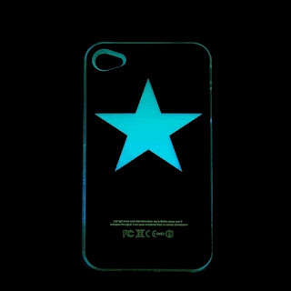 Cartoon Flash Light Control LED Color Changed Hard Skin Case Cover For iphone4