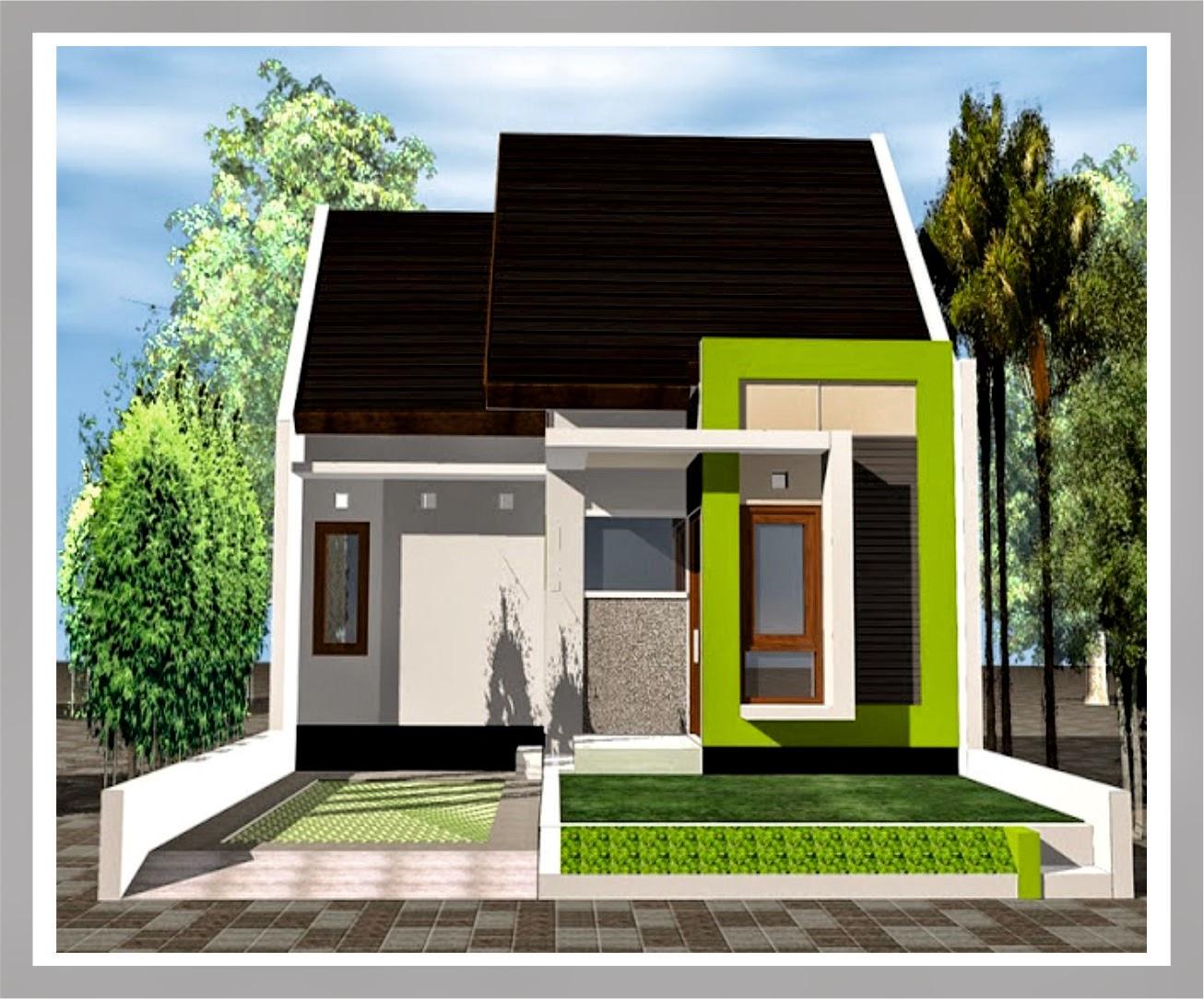 Pintu Rumah Warna Putih Warna Cat Rumah Minimalis Tampak Gifep