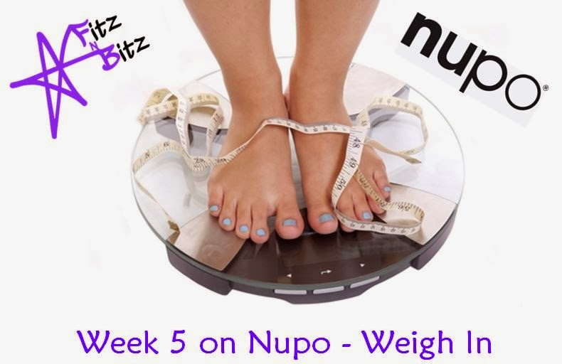 Wednesday Weigh In #6 - Nupo Journey
