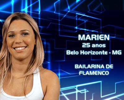 Lista de participantes do BBB 13 - Marien - Belo Horizonte MG - Flagras - Fotos