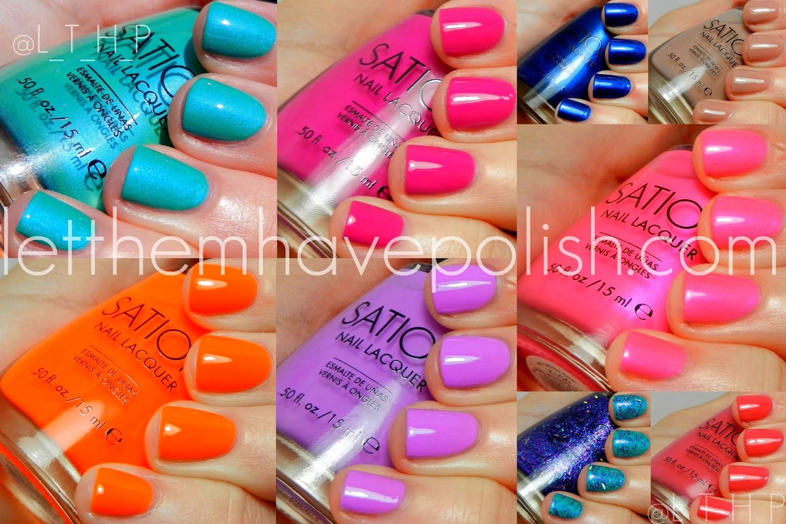 Sunday Spam Sation Miss Pro Nail Swatchies