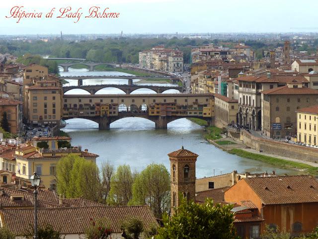 hiperica lady boheme, blog cucina, ricette gustose, facili e veloci: Ponte Vecchio Firenze