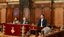 Acto de Clausura del Año Internacional de la Familia en el Ayuntamiento de Barcelona