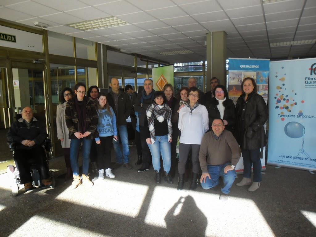 Representantes de las distintas Entidades federadas en Cocemfe-Cantabria