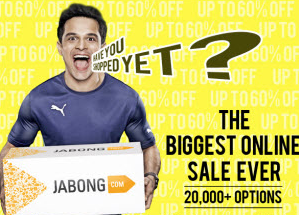Jabong: Buy Clothing, Footwears, Accessories, Beauty & Home minimum 50% off + 32% off from Rs. 49