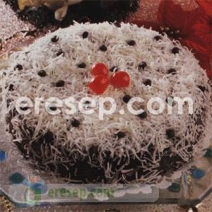 Gambar Cake Coklat Kelapa