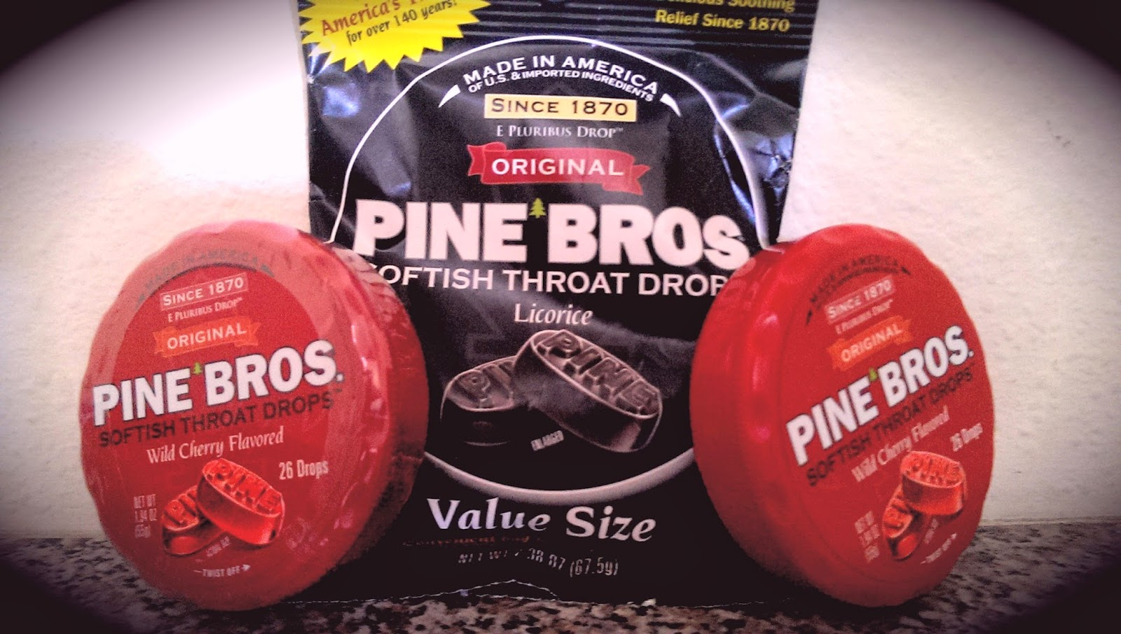 pixel Pine Brothers Softish Throat Drops Review - Sore Throat Relief
