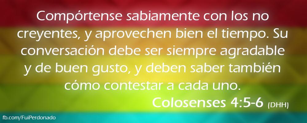 Colosenses 4:5-6