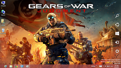 2013 Download Gear Of War Judgment Windows 7 Theme