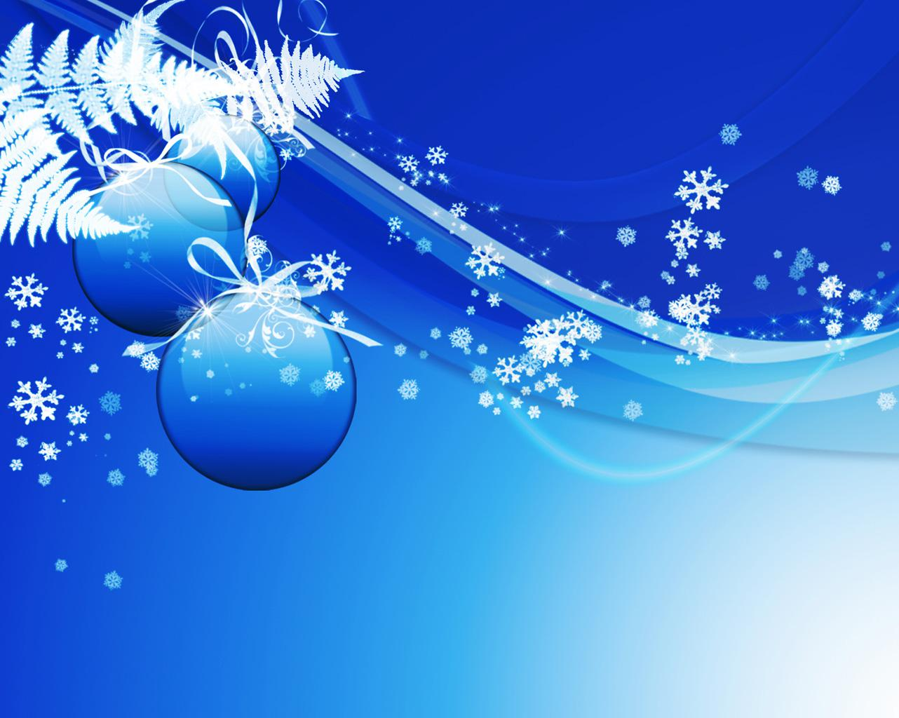 Free Christmas PowerPoint Background 12