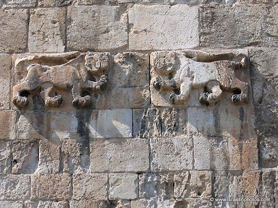 Israel Travel Guide: Jerusalem's Old City Walls, Lions' Gate