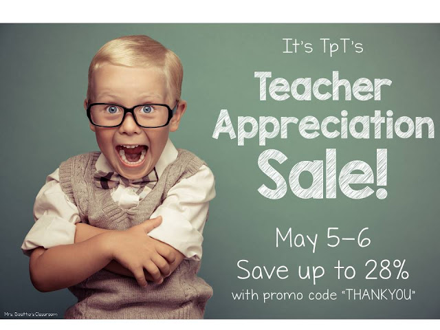 Fern Smith's Classroom Ideas Big TeachersPayTeachers Teacher Appreciation Sale!