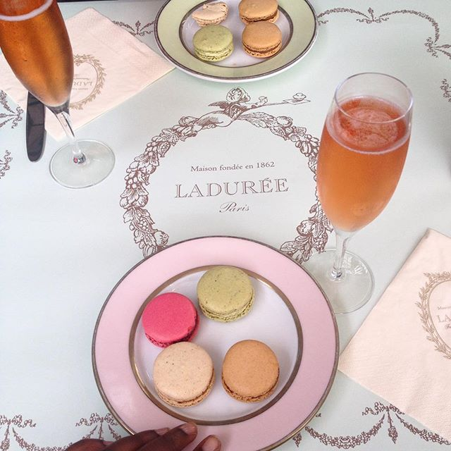 Afternoon Tea At Laduree