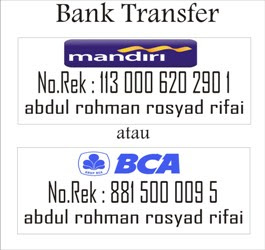 Informasi Bank Transfer