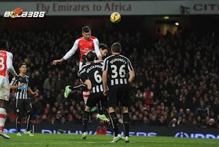 Agen Bola Terpercaya : Prediksi Skor Arsenal Vs Newcastle United Fc 02 Januari 2016