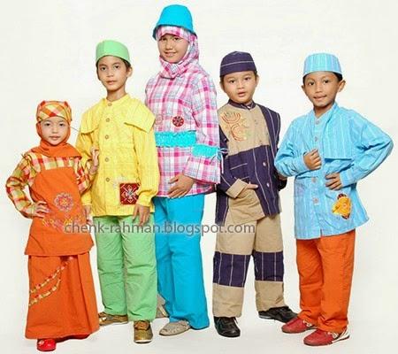 Foto Gambar Model Baju Lebaran Anak-Anak