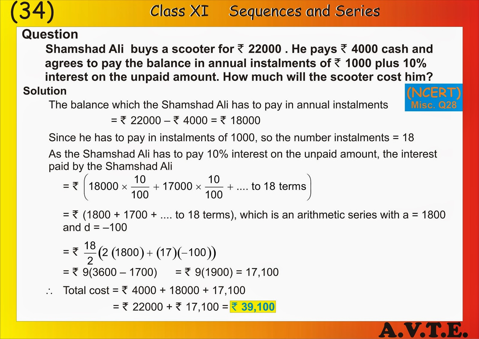 Arithmetic And Geometric Sequences And Series Worksheet 3106520