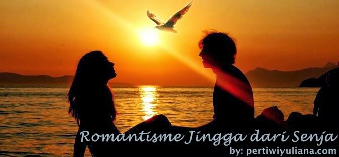 Romantisme Jingga dari Senja