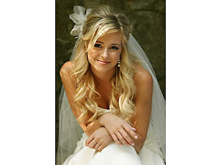 bride hairstyles veil pictures