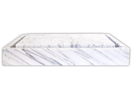 Marble Infinity Sink Chic Vessel Sink