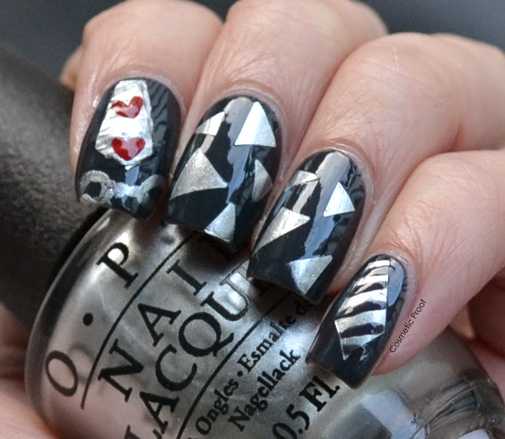 OPI 50 Shades of Grey Colletion Swatches Review Nail Art