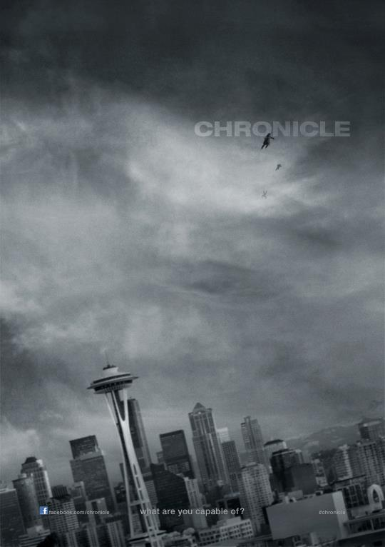 chronicle 2012 film poster