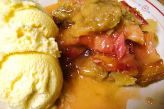 Recipe: Rhubarb crisp