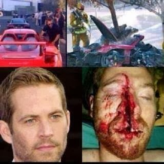 Pic of Dead Body of Paul Walker