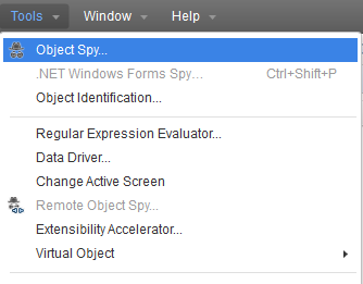 Object Spy in Tools