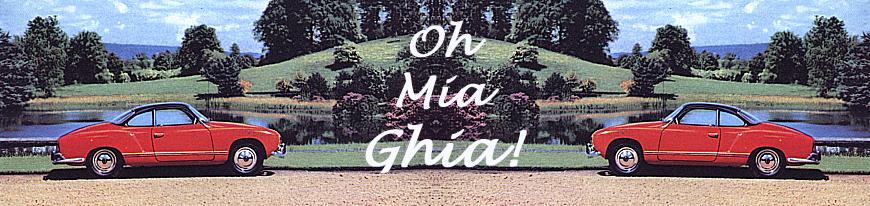 O Mia Ghia!