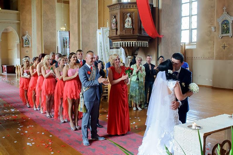 vestuvės balininkų bažnyčioje