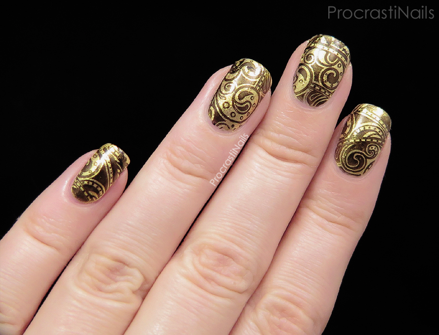 Review + Nail Art // Born Pretty Store Black Stamping Polish ...