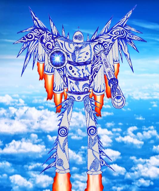 Dessins Fantastiques - Page 2 Robot+volant+5