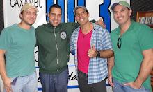 Inimigos da HP na Radio Circuito das Aguas FM em 10/07/2012