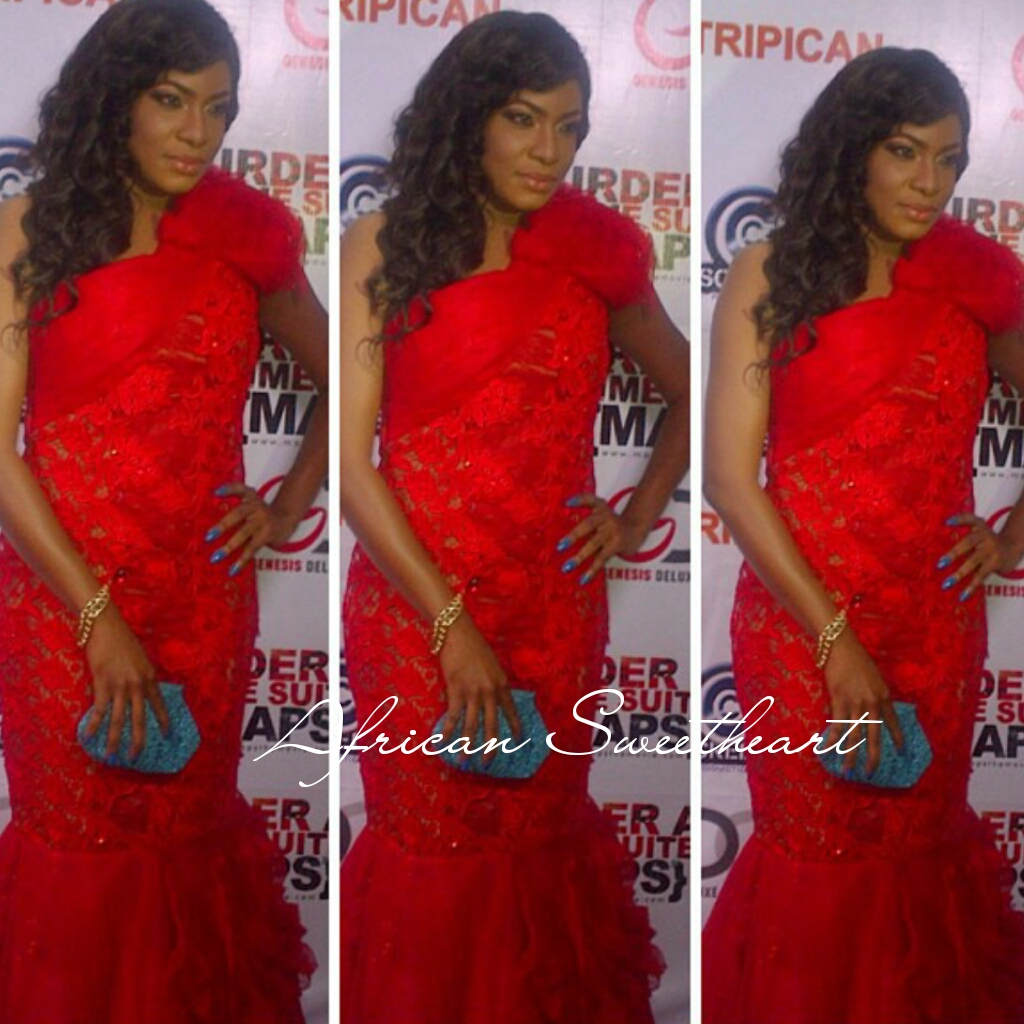 Chika ike chika ike shows off her new look diamond celebrities - You Would Ve Been Mistaken For Thinking That It Was Her Wedding Day As Actress Chika Ike Stepped Out For The Premiere Of New Movie Murder At Prime Suite