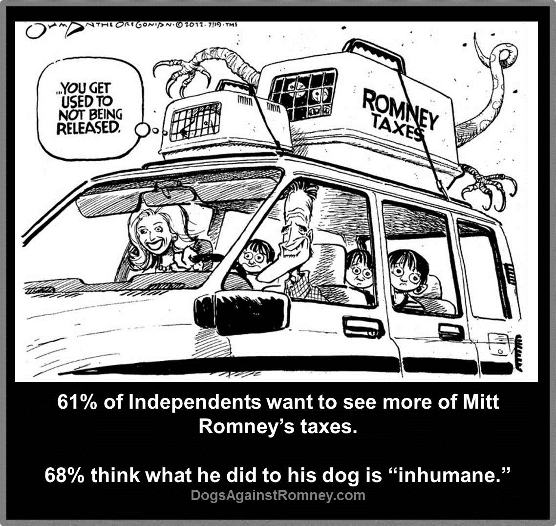 mitt romney cruel to dogs