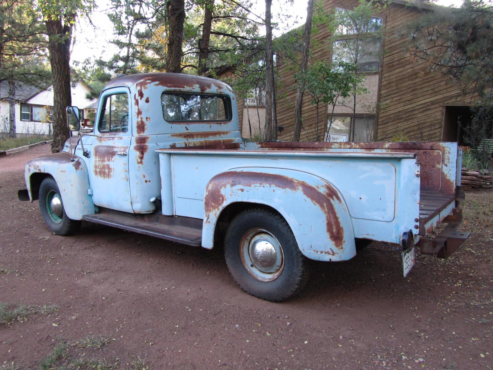 autoliterate: 1953 International pickup & American landscapes