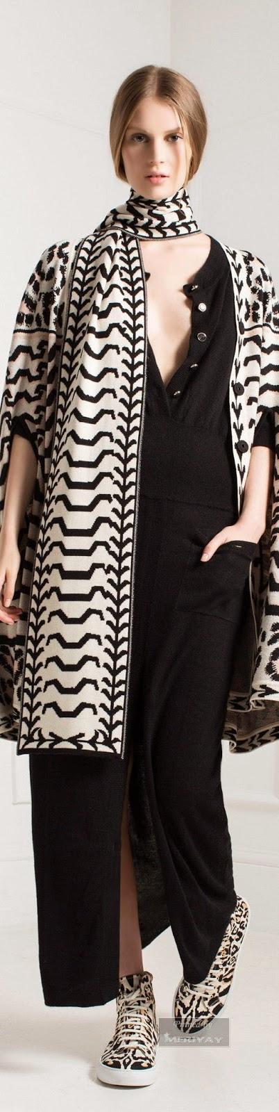 Look preto e branco - tendencia primavera-verão 2015