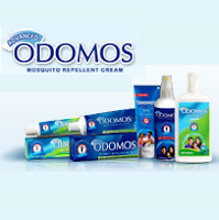 Free Odomos Mosquito Repellent Sample
