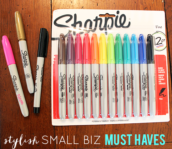 Creativity + Organization for Small Biz + Bloggers w/ Sharpie