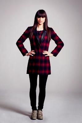 very, aw13, tartan, coat, winter