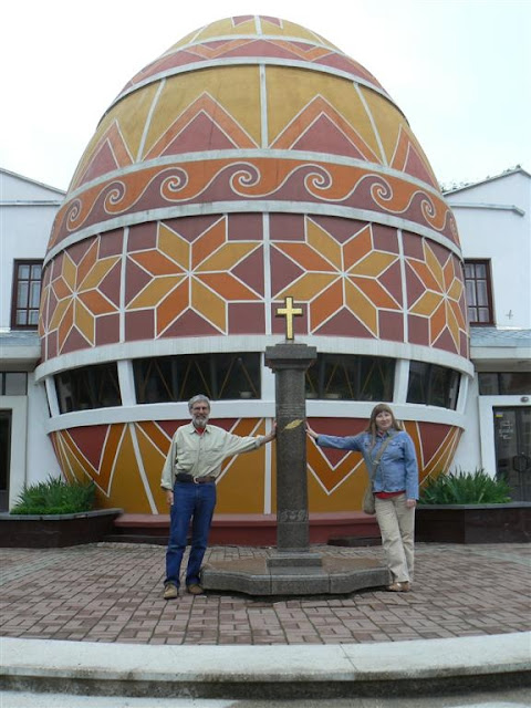 Largest Ukrainian Easter Egg, Kolomyia, Ukraine