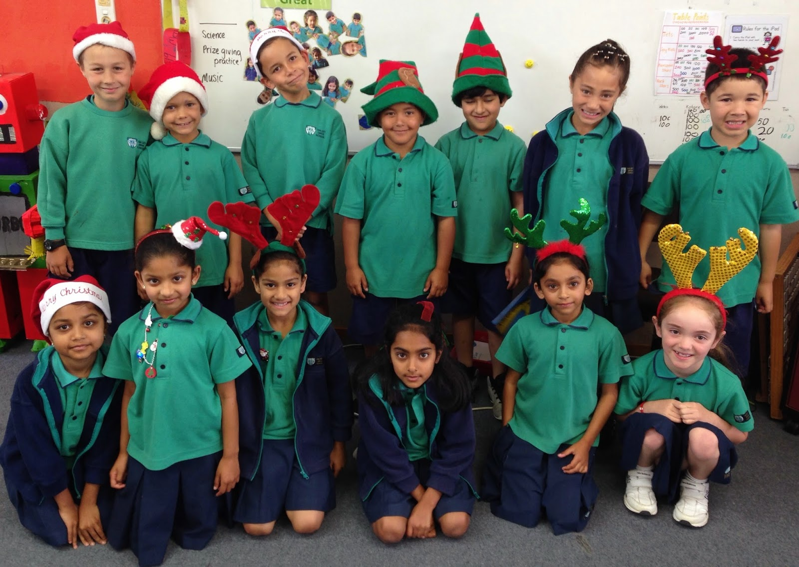 Room 12 a happy learning place christmas dress up day